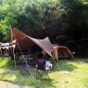 初めてのファミリーキャンプ(モビレージ東条湖&加東市花火大会)