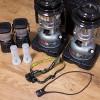 アウトドア用に揃えた照明器具いろいろ!キャンプでヘッドライトの便利さを実感♪