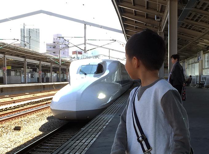 子どもと新幹線
