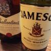 ウイスキーを追加購入!バランタイン ファイネスト&ジェムソン スタンダード