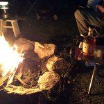 楽しい庭BBQ!牛タンの塩釜焼きと焚火&ウイスキーの夕べ♪