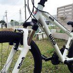 娘の新しい自転車!GIOS GENOVA(24インチ・ホワイト)購入♪