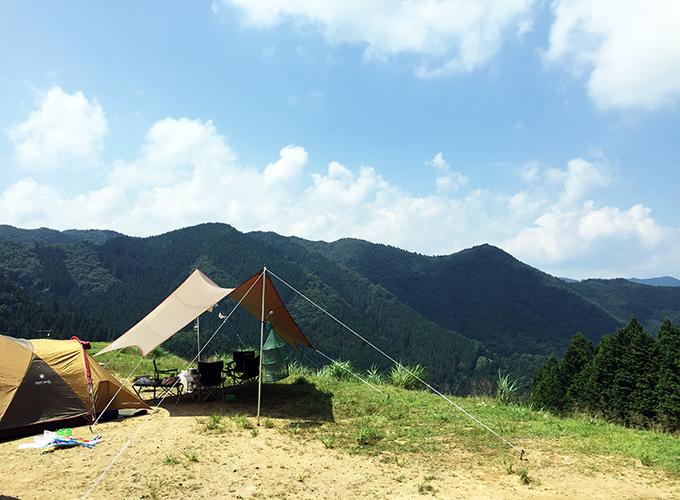 ファミリーキャンプ(若杉高原おおやキャンプ場)