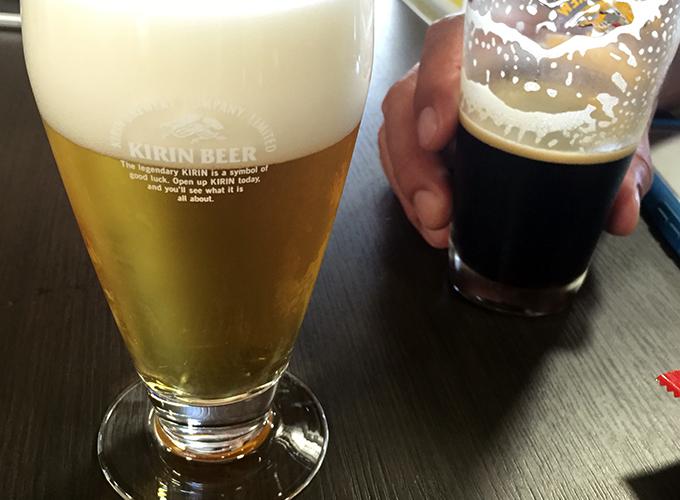 ビール工場見学