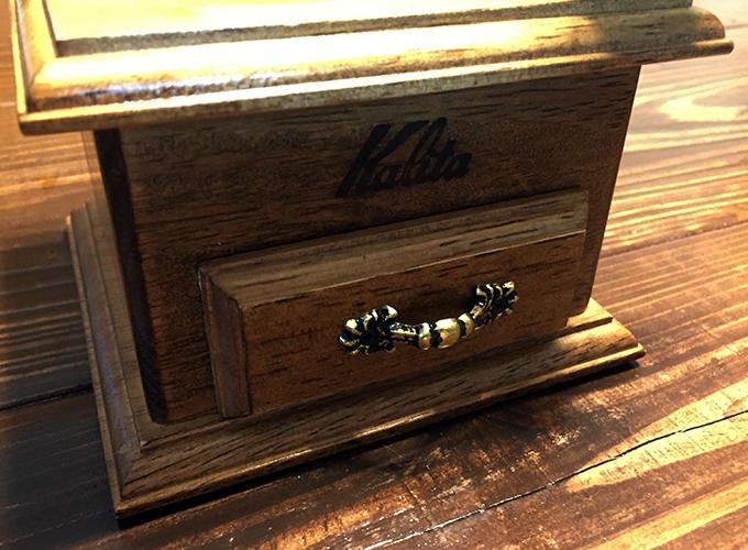 手挽きコーヒーミル「カリタ クラシックミル」