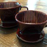 カリタの陶器製コーヒードリッパー「101ロト」&「102ロト」を購入♪
