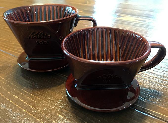 カリタ陶器製コーヒードリッパー