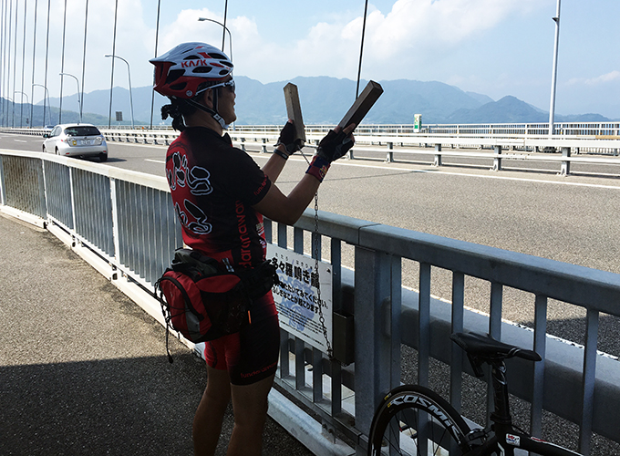 しまなみ海道サイクリング