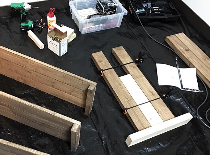DIY玄関収納