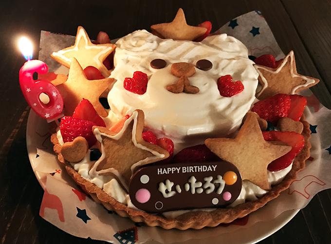 妻の手づくりケーキ