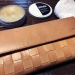 革製品の定期メンテナンス!BREEのヌメ革財布を使って半年が経ちました♪