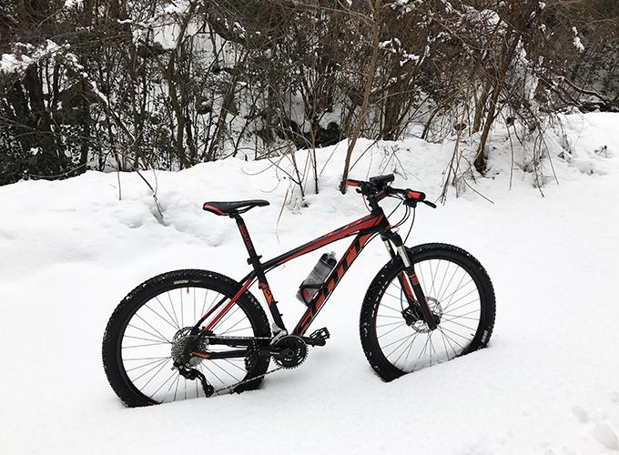 雪山MTB