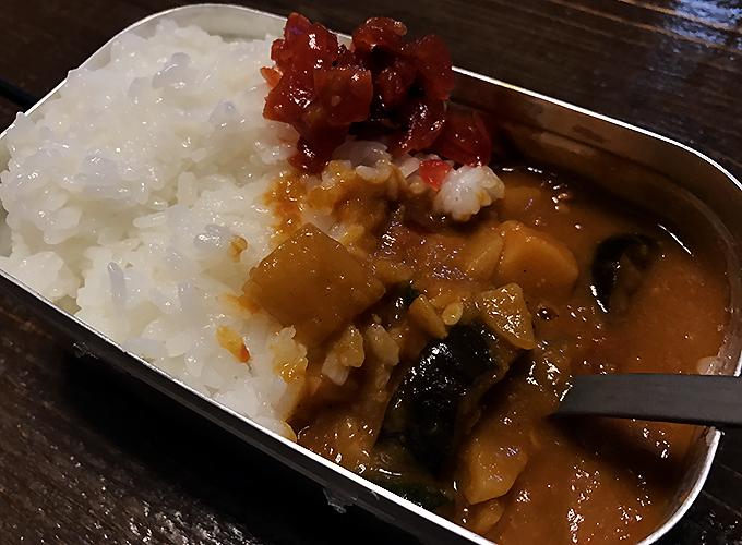 メスティン 炊飯&カレー