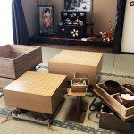 我が家に将棋ブーム到来?子ども達と「はさみ将棋」や「歩まわり」を楽しんでます♪