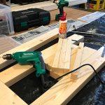 楽しいDIY!余った2×4材を活用して倉庫の棚を作り直しました♪