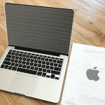 対応に少し不可解な点も!?バッテリー膨張によりMacBook Proの外装が歪んだので修理を依頼したらピカピカになりました♪