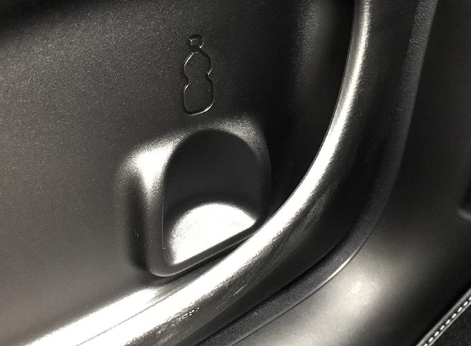 FIAT Panda 4x4 純正ドリンクホルダー