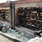 焚火&BBQ用の薪づくり!家に薪のストックがあれば防災アイテムとしても安心♪