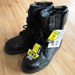 庭仕事やDIY作業に!編み上げブーツタイプの安全靴「CO-COS HZ-703」購入♪