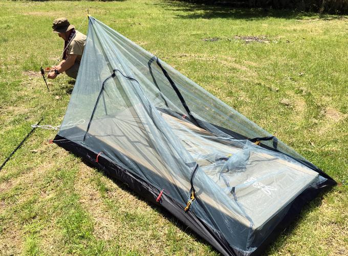 野営キャンプ