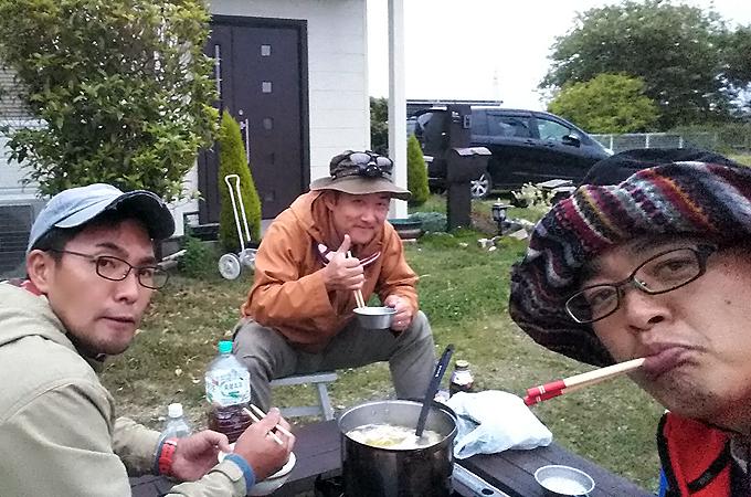 スリーランボーズキャンプ