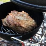 ローストビーフのために!スノーピークのダッチオーブン用インナーネット(底網)を購入♪