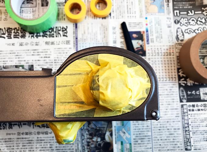 イワタニ「カセットフー 風まる」の塗装