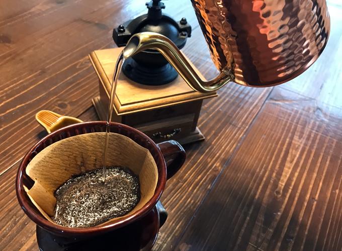 カリタ コーヒーポット 銅 600ml