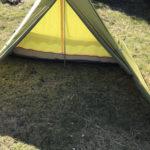 これで冬キャンプも安心!?テンマクデザイン「PANDA」テントのスカート(すきま風対策)を自作しました♪
