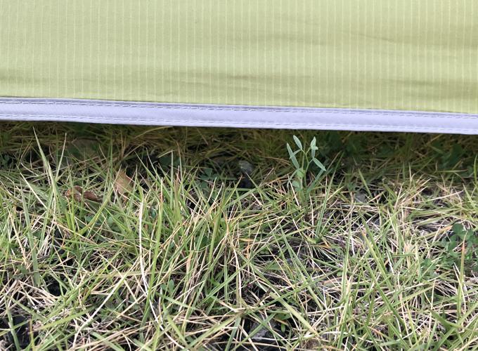 テンマクデザイン「PANDA」テントのスカート自作DIY