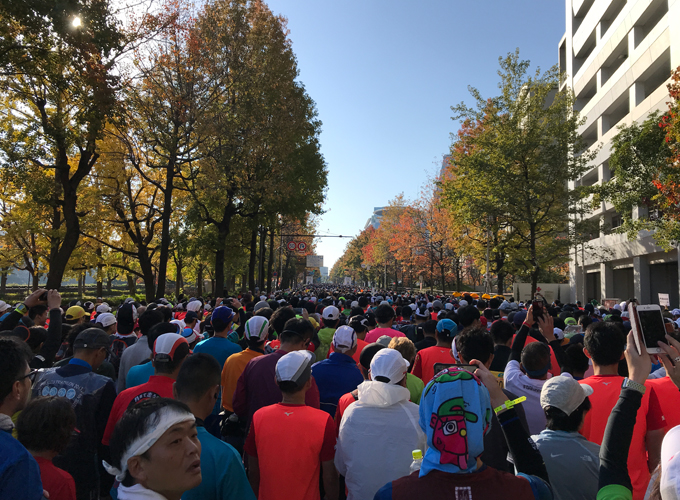 大阪マラソン2018