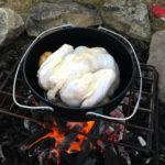 ダッチオーブンでローストターキーに初挑戦!やっぱりクリスマスは七面鳥の丸焼きですね♪
