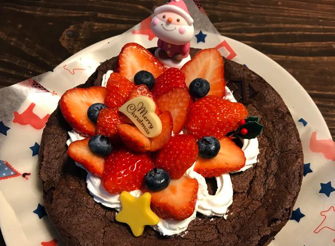 自家製クリスマスケーキ