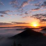 雲海が幻想的!小野アルプスの展望台(惣山)で2019年の初日の出を見てきました♪