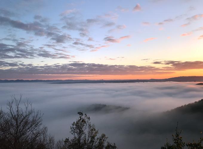 小野アルプスの雲海
