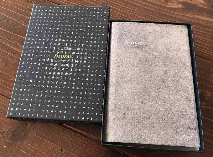ファイロファックス システム手帳 ナッパ ジップ バイブル