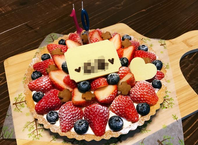 娘の10才の誕生日