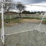 庭のサッカーゴールを簡単に補修(塗装&ネット交換)しました♪