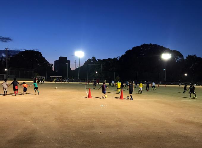 少年サッカー練習