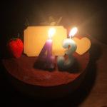 父の日&43歳の誕生日♪