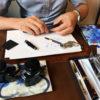 万年筆のメンテナンス!専門店でプロにペン先の調整をお願いしました♪