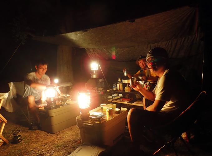 ソロキャンプ