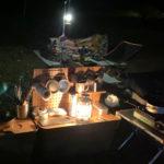 またまた金曜夜から土曜朝にかけての半日合同ソロキャンプを楽しんできました♪