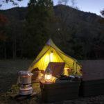 11月でも寒くなかった!秋冬キャンプに最適な防寒アイテムは直火で使える湯たんぽ♪