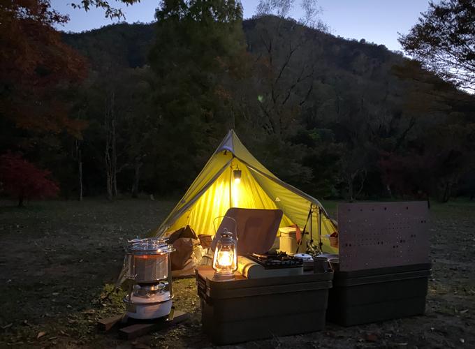 合同ソロキャンプ