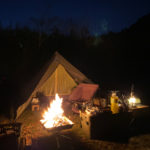焚き火が嬉しい季節!今月も恒例の合同ソロキャンプに行ってきました♪