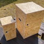 楽しいDIY!OSB合板でフジカハイペットとフュアーハンドランタンのケースを作りました♪
