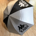 少年サッカーの応援に必須!KappaのUVカット全天候傘(ゴルフ傘)を購入しました♪