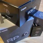 はじめてのフルサイズ&RFマウント!ミラーレス一眼カメラ「Canon EOS RP」を購入♪