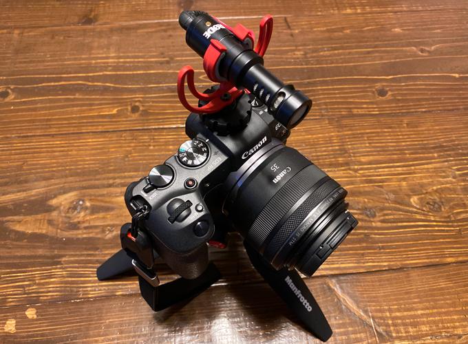 Canon EOS RP RODE VideoMicro